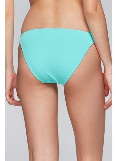 Reflections Mix Match Kelebek Modelli Düz Bikini Alt Yeşil